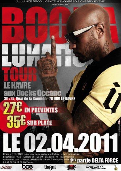 """Retrouvez """"Le KONCEPT"""" en 1ère partie de Booba le Samedi 02 Avril aux Docks Océane"""