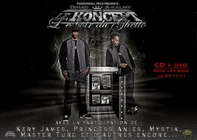 """Sortie officielle de l'album """"L'espoir du ghetto"""" le 07 Novembre dans les bacs"""