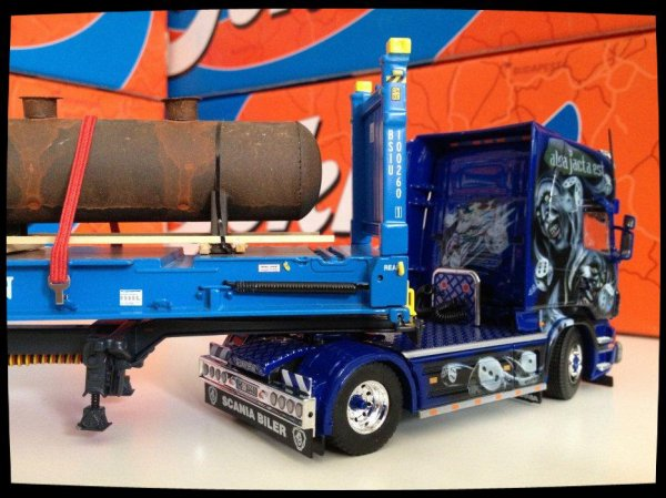 Suite et fin, Scania Frankenpower.