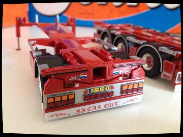 Suite Daf XF 510 Weeda Transport.
