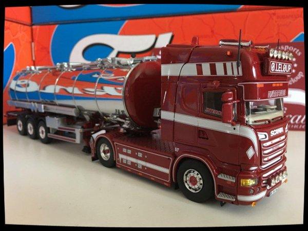 Suite et fin, Scania R 620 Transport Olivier LELOUP.