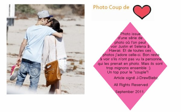 La venue de Justin à Paris/ Photo Instagram et Photo De Justin et Selena à Hawaii et Moment en Amoureux du couple. PLUS OFFRES!