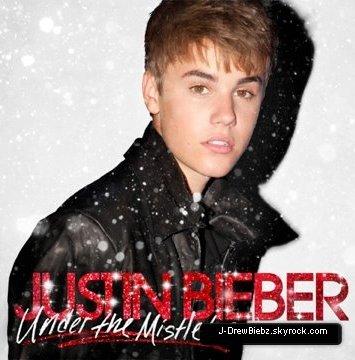 En Exclu La Pochette De L'Album de Noël de Justin + 1 Photo D'un PhotoShoot