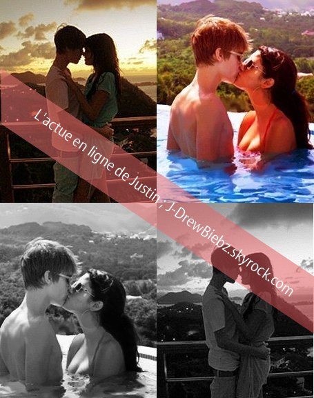 """Le clip de """"All I Want For Christmas"""" - Ma vidéo préférée - 2 Photos de Justin à DisneyLand -  2 Photos Inédites de Justin et Selena à Hawaii"""
