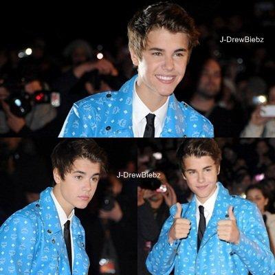 Retrouve La Soirée des NRJ Music Awards 2012 spécial Justin!