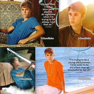 """Justin Bieber dans l'émission """"The Voice"""" version américaine et les photos d'un photoshoot pour US MAGAZINE"""