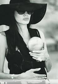 Angelina après sa rencontre.....