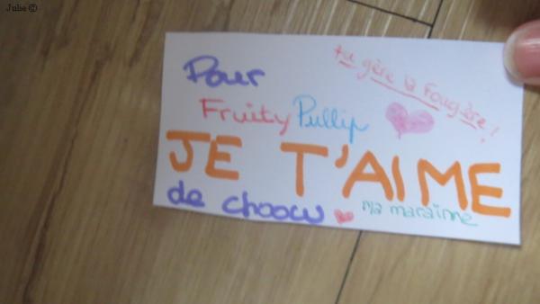Dédi' de Choow pour FruityPullip, Sa marraine ♥