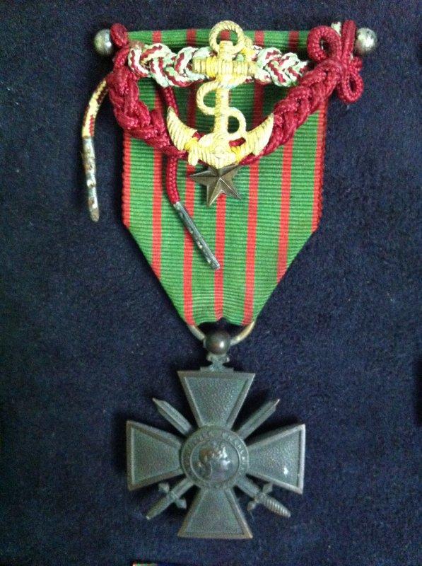 Croix de guerre 14-17 marine