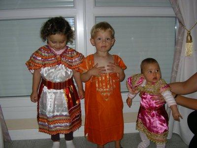 un de mes petits neveu et mes 2 petites niece
