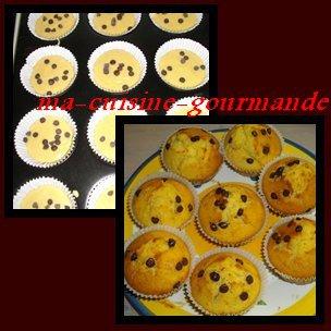 Muffins (12 avec seulement 2 ½ufs)