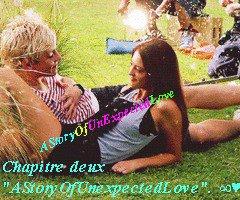 "Chapitre deux ""AStoryOfUnexpectedLove"". ∞♥"