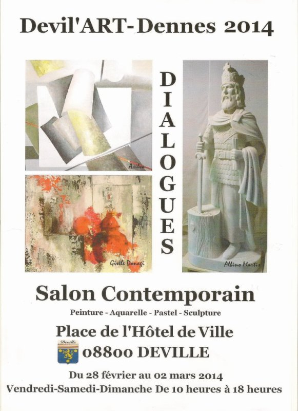 Salon Contemporain Devil'Art'Dennes 2014