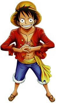 Présentation du personnage Monckey D luffy.