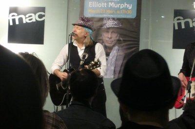 Elliott Murphy à la FNAC