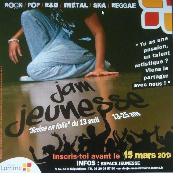 Le JAM Jeunesse 2013 à Lomme se prépare dès maintenant !