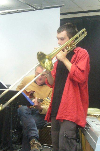 Jazz à Beaulieu : l'orchestre d'Yvon et de Jérôme