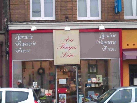 C'est l'été à la librairie au Temps Lire avenue de Dunkerque à Lomme
