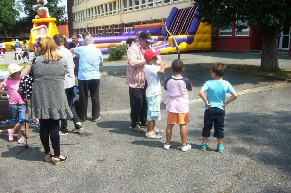 Pour faire sa fête, cette année, le quartier de Délivrance à Lomme faisait du sport