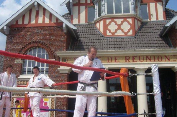 Fête du quartier de Lomme Délivrance : démonstration de judo