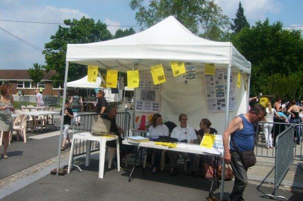 Fête de quartier de Lomme Délivrance : LE stand incontournable, celui du Bavard de Délivrance, journal du quartier