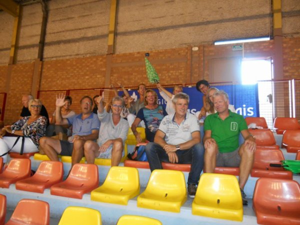Venus cup 2013 : les supporters de Quintus Poeldijk sont là !