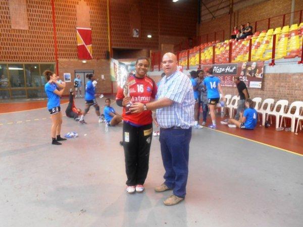 Venus Cup 2013 : remise de la coupe à l'équipe du Havre