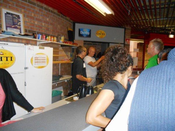 Venus Cup 2013 : dans la chaleur du bar, on est aussi aux premières loges !