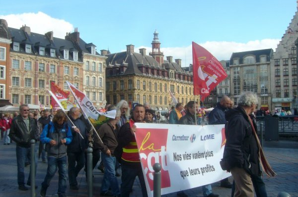 Le mardi, c'est la grève... et la manifestation aussi !