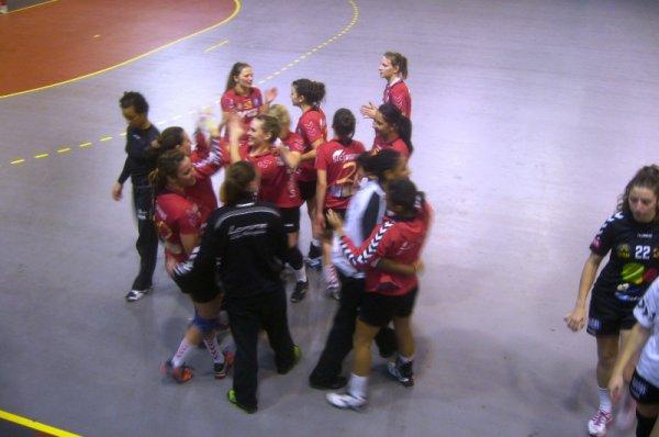"""Handball féminin deuxième division : première victoire des Lommoises cette saison... et je pourrai dire : """"J'y étais !"""""""