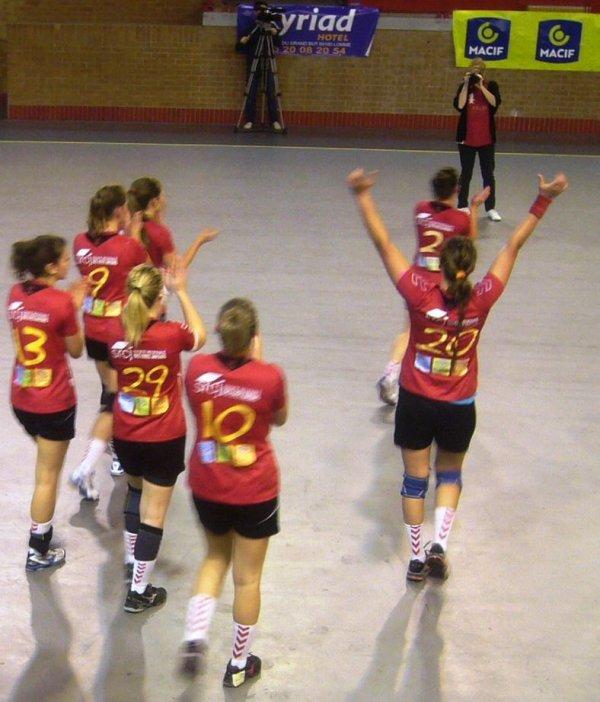 Handball féminin deuxième division : samedi dernier, les filles de Lomme remportaient leur premier match, à domicile