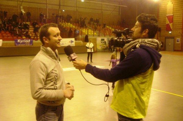 Handball féminin deuxième division, Lomme - Cergy Pontoise : les à-côtés du match