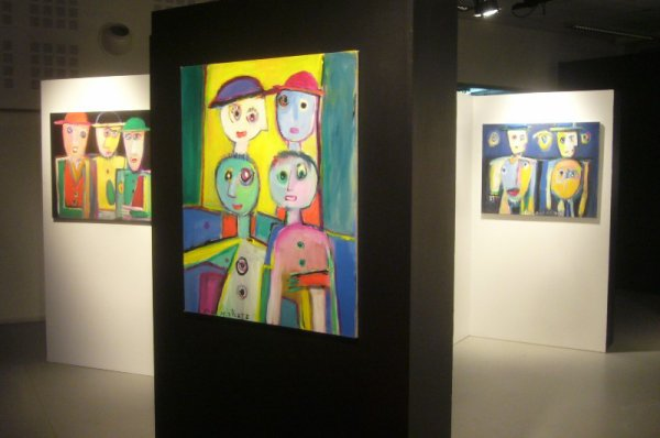Exposition Yvon Delaporte à Lomme (la suite)
