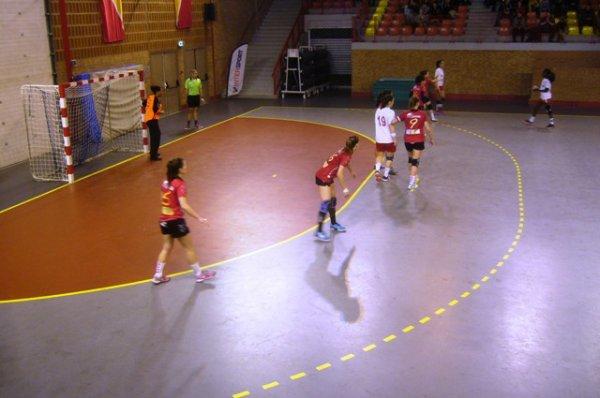 Handball féminin 2ème division : Lomme - Cannes : les photos du match (2/3)