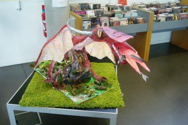 Les dragons de la médiathèque de Lomme