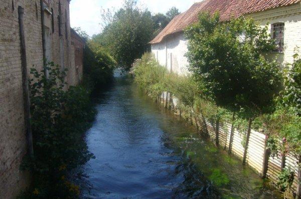 Paysages de notre région Nord-Pas-de-Calais : aujourd'hui Thérouanne, Pas-de-Calais