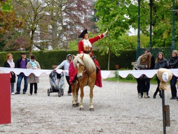 Journée des espaces fortifiés : le camp militaire du XVIIème siècle dans le jardin public de Saint-Omer