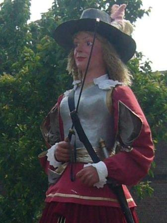 Anne Delavaux, une guerrière gauloise ?