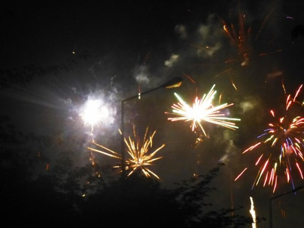 Carnaval d'été 2014 à Lomme : les photos du feu d'artifice du samedi soir