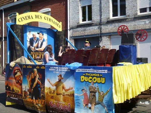 Le cinéma des Gymnases, mon coup de c½ur pour le carnaval de Lomme 2014