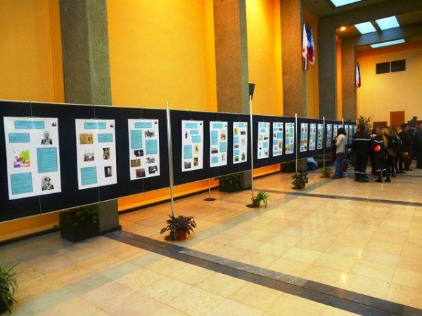 Ce mardi 11 novembre, inauguration de l'exposition consacrée au centenaire de la première guerre mondiale à l'hôtel de ville de Lomme