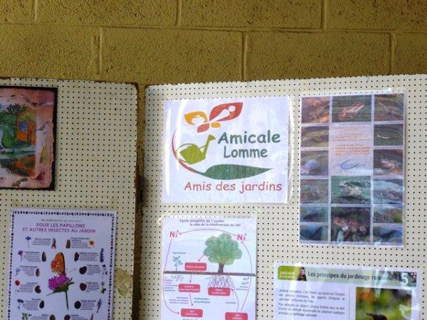 Le week-end dernier, les Amis des Jardins de Lomme ont participé à la fête de printemps de Tracteurs en Weppes à Beaucamps-Ligny