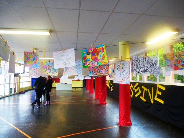 C'était jour de grande lessive ce jeudi soir à l'école Curie Pasteur de la cité de la Délivrance à Lomme
