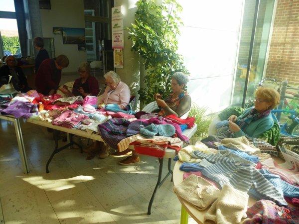 L'Odyssée des tricoteuses solidaires d'Amis sans Frontières