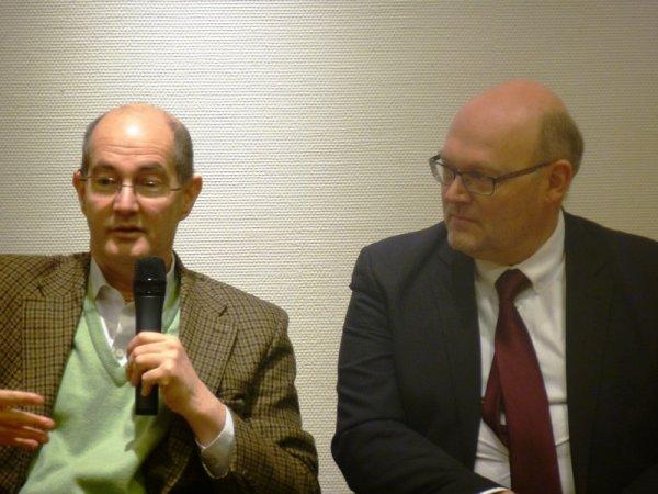 L'historien Patrick Weil était à la médiathèque de Lomme samedi