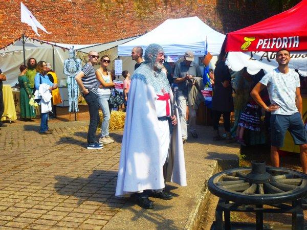 Le week-end dernier, il y avait fête médiévale à Saint-Omer