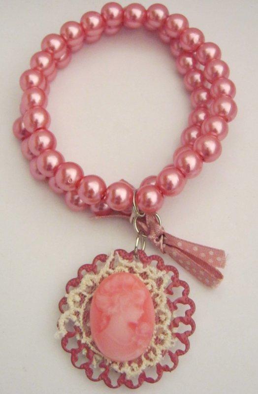 Bracelet femmes  rose