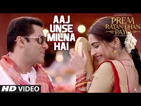 Aaj Unse Milna Hai VOSTFR - Prem Ratan Dhan Payo VOstfr - Salman Khan & Sonam Kapoor