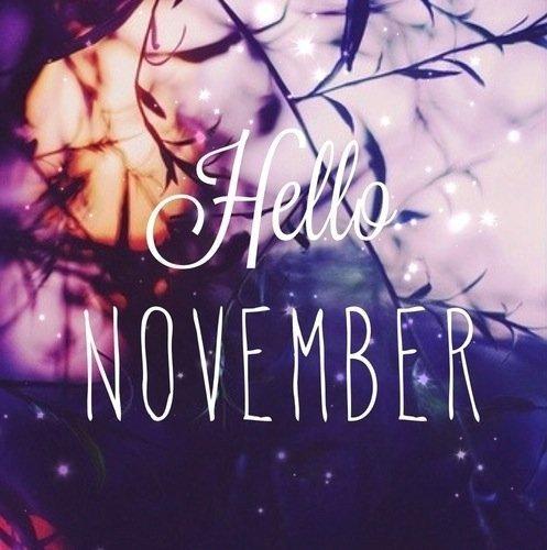 Dite bonjour ♡ a ... Novembre
