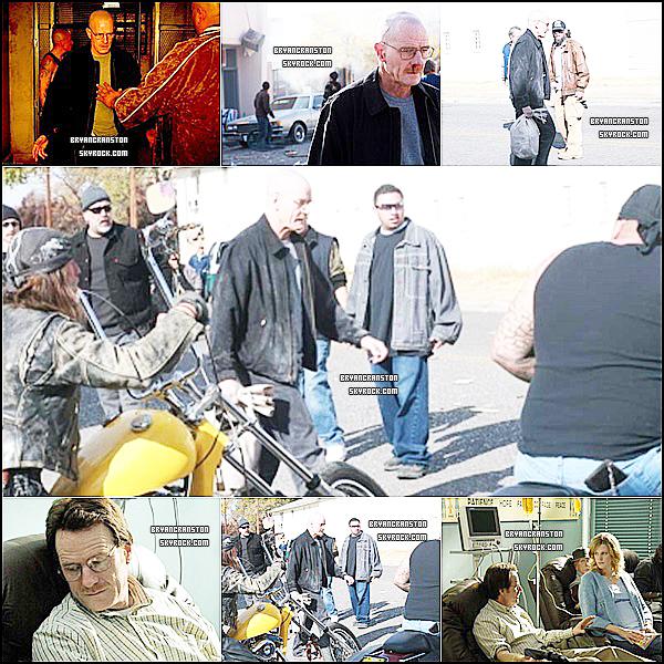 . Encore sur le tournage de la 1er saison de Breaking Bad ! .